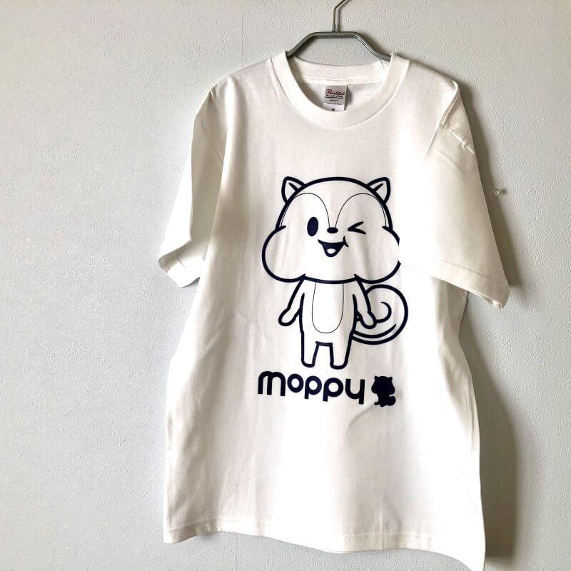 モッピーノベルティTシャツ